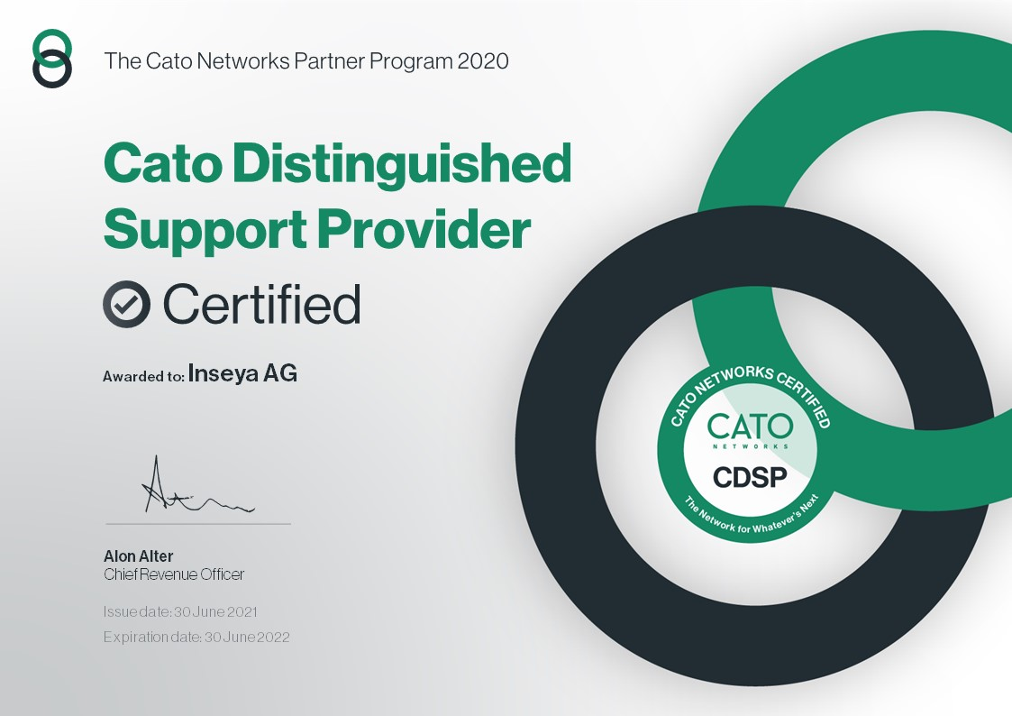 Cato Distinguished Support Provider